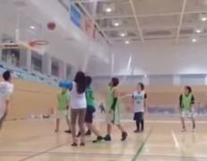 野村瑠里 バスケットボール試合