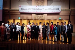 Japan-ASEAN+India Travel Mart 2014 野村瑠里